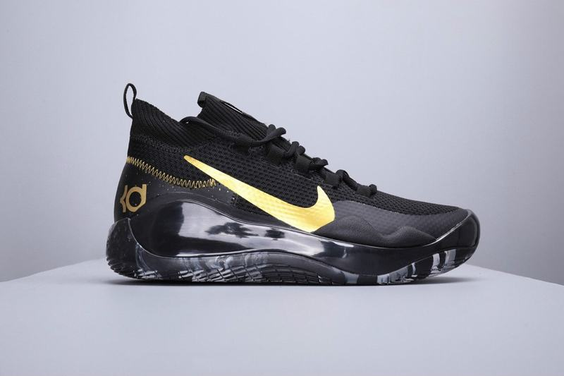 Nike KD 12 Men Shoes Black Gold