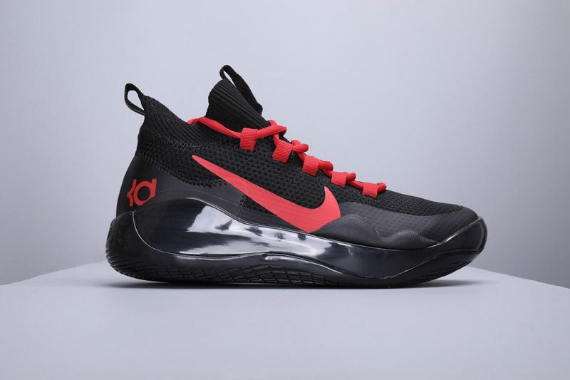 Nike KD 12 Men Shoes Black Red