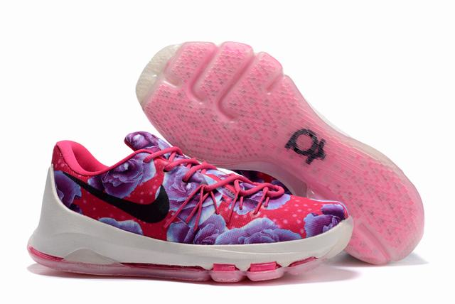 Nike KD 8 Shoes Low Breast Cancer