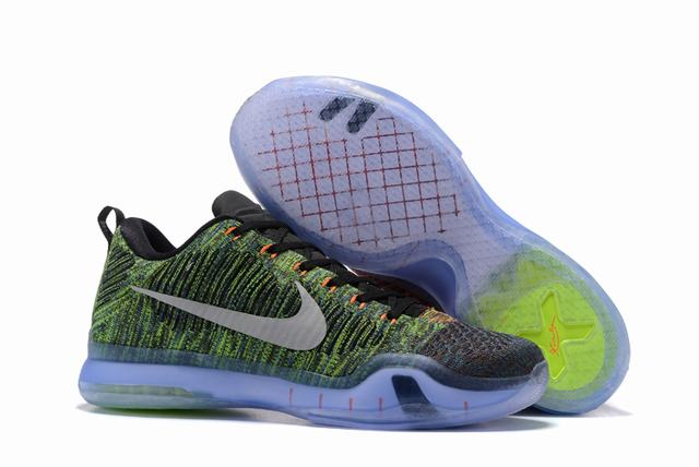 Kobe 10 Shoes Low Blackish Green