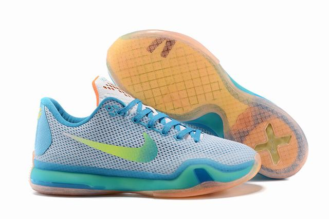 Kobe 10 Shoes Low High Diving