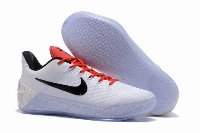 Nike Kobe AD 12 Air Cushion Shoes Beethoven White Black Red
