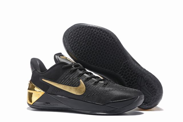 Nike Kobe AD 12 Air Cushion Shoes Black Gold