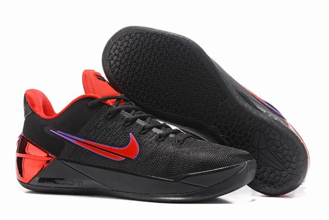 Nike Kobe AD 12 Air Cushion Shoes Fantasy Black Red