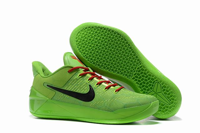 Nike Kobe AD 12 Air Cushion Shoes Ghost Elves Green Black