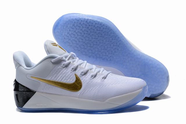 Nike Kobe AD 12 Air Cushion Shoes White Gold