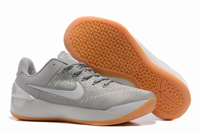 Nike Kobe AD 12 Air Cushion Shoes White Grey Yellow