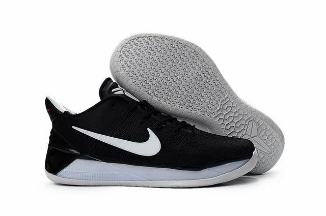 Nike Kobe AD 12 Shoes Dark Days Black