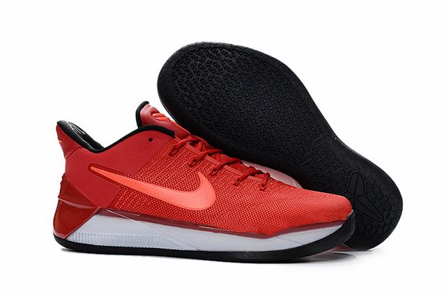 Nike Kobe AD 12 Shoes GuanYu Red White