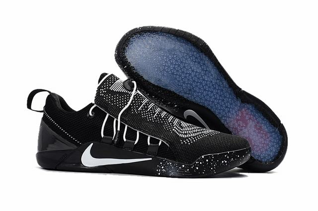 Nike Kobe AD 12 Shoes Woven Surface Black White