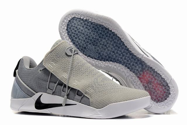 Nike Kobe AD 12 Shoes Woven Surface Wolf Grey