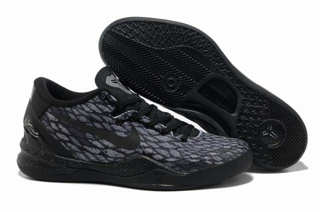 Kobe 8 Shoes All Black