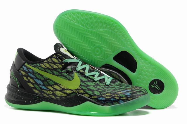 Kobe 8 Shoes Black Green