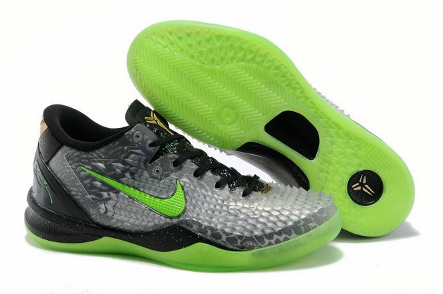 Kobe 8 Shoes Christmas Black Green