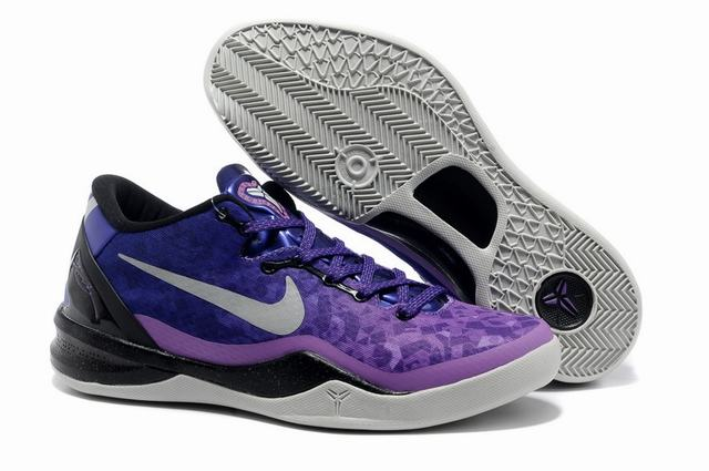 Kobe 8 Shoes Purple Blue Red