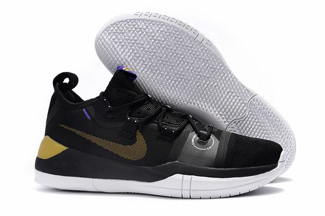 Nike Kobe AD EP Shoes Black Gold