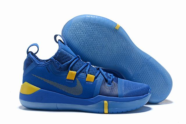 Nike Kobe AD EP Shoes Royal Blue Yellow