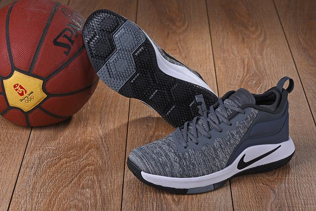 Nike Lebron James Witness 2 Shoes Charcoal Grey White