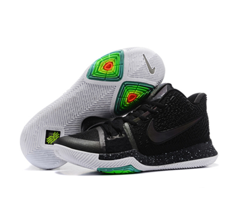 2017 Kyrie 3 Shoes black black