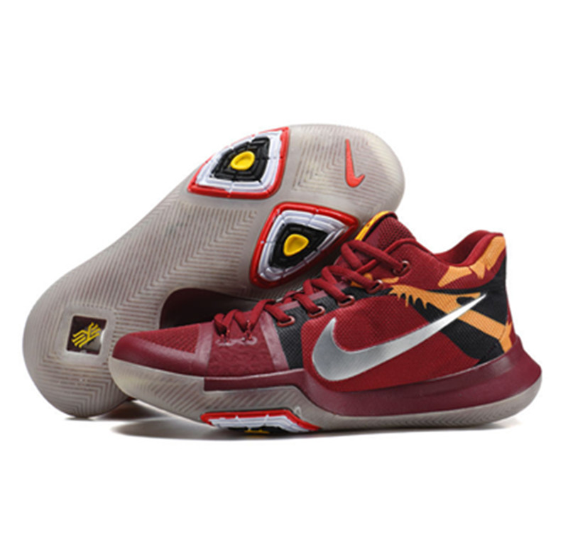 2017 Kyrie 3 Shoes red knight