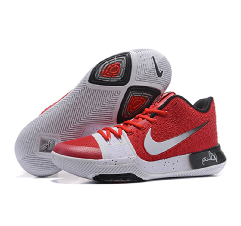 2017 Kyrie 3 Shoes red white