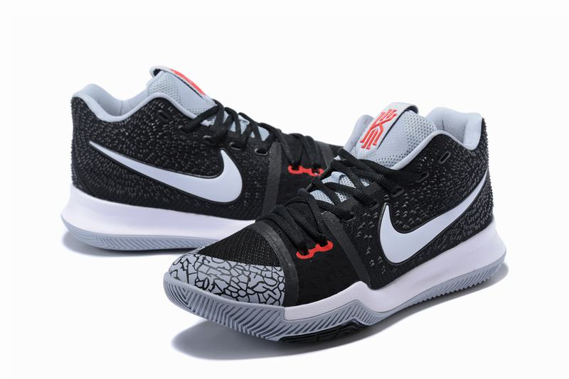 New Nike Kyire 3 Black Crack White