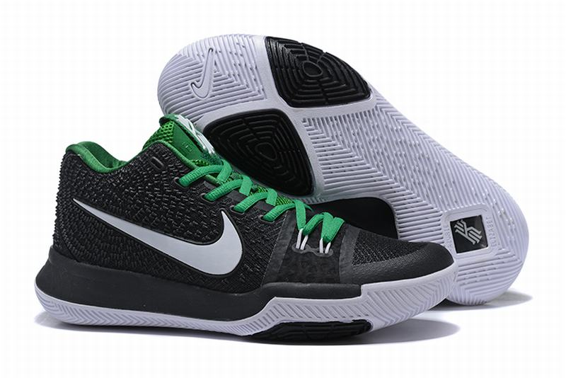 New Nike Kyire 3 Green Black