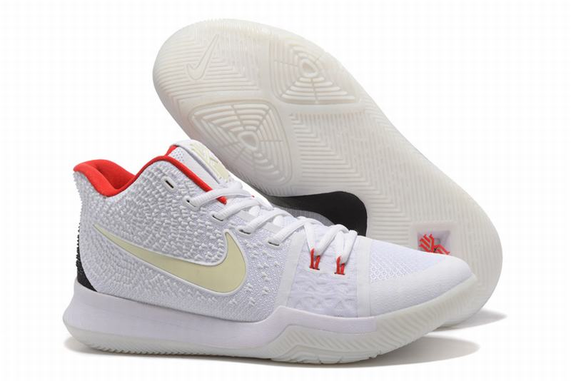 New Nike Kyire 3 Black Red White