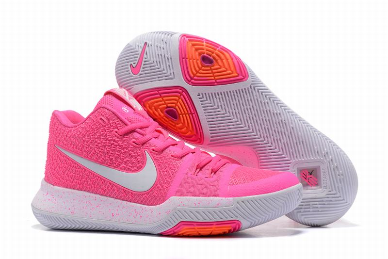 New Nike Kyire 3 Pink White