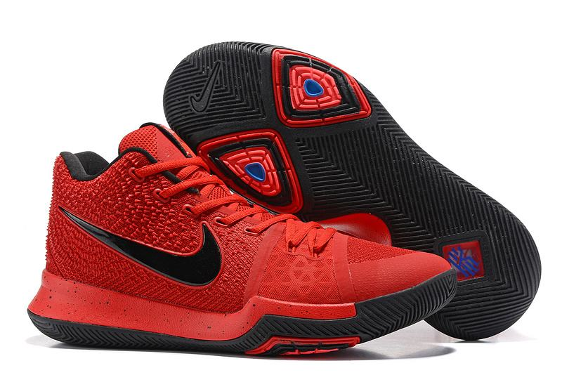 New Nike Kyire 3 Red Black
