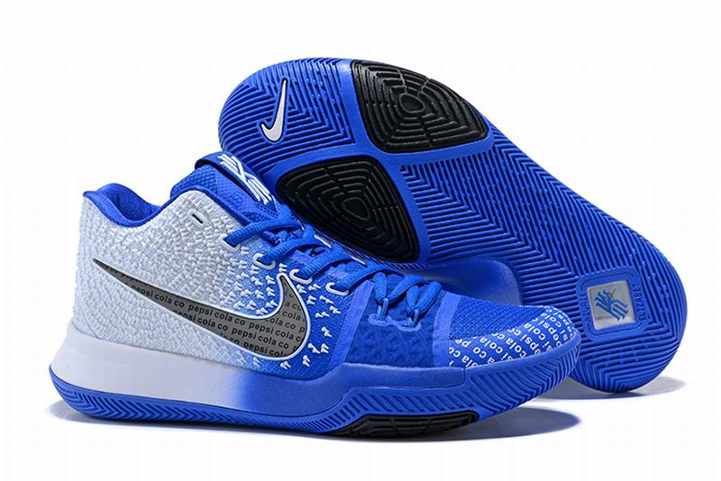New Nike Kyire 3 White Blue