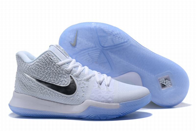 New Nike Kyire 3 All White