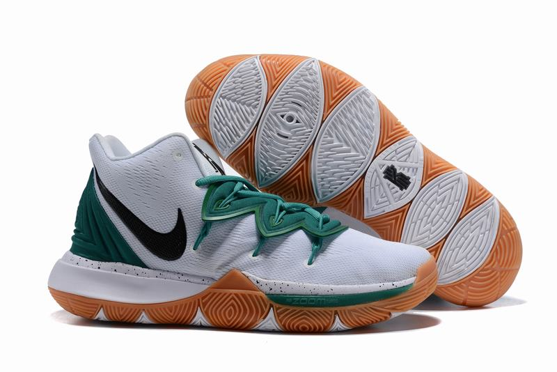 New Nike Kyire 5 Green White